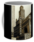 Chicago Cinema Theater - Vintage Photo Art Coffee Mug