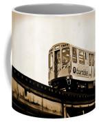 Chicago Metra Sepia Coffee Mug