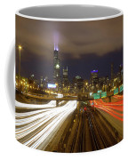 Chicago Skyline South Side View Coffee Mug