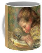 Child Reading, 1890  Coffee Mug