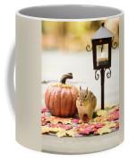 Chipmunk In The Autumn Coffee Mug