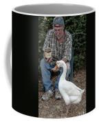 Chow Time Coffee Mug by Mike Long