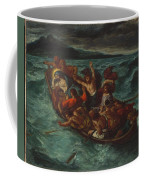 Christ Asleep During The Tempest  Coffee Mug