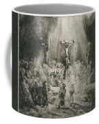 Christ Crucified Between The Two Thieves   The Three Crosses          Coffee Mug