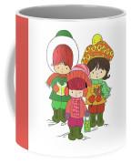 Christmas Angels Coffee Mug