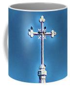 Church Steeple In Macon Ga Next To The Hospital  Coffee Mug