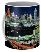 Cinci The Queen City Coffee Mug
