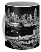 Cincinnati Covington And Ohio River Coffee Mug