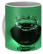 Circle Water Dance Green Coffee Mug