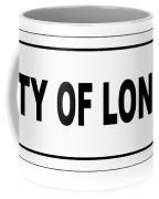 City Of London Nameplate Coffee Mug