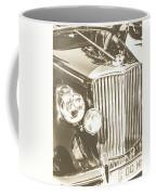 Classic Car Chrome Coffee Mug