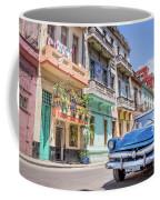 Classic Car In Havana, Cuba Coffee Mug