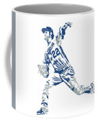 Clayton Kershaw Los Angeles Dodgers Pixel Art 30 Coffee Mug