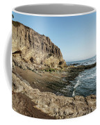Cliff In The Ocean Coffee Mug