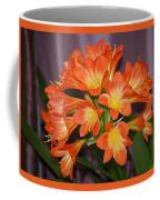 Clivia Blossoms Coffee Mug
