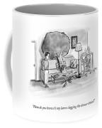 Clogging The Shower Drain Coffee Mug