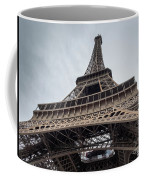 Close Up View Of The Eiffel Tower From Underneath  Coffee Mug
