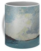 Cloud Above The Sea Coffee Mug