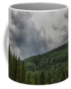 Cloud Topped Aspens Coffee Mug