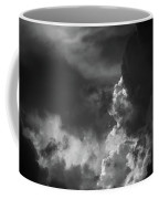 Clouds 6 In Black And White Coffee Mug