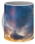 Clouds Spotted With Color Coffee Mug