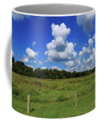 Clouds Surround The Landscape Coffee Mug