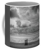 Cloudy Morning Rough Waves Coffee Mug