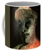 Clown On Black Coffee Mug