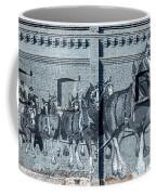 Clydesdale Mural Coffee Mug