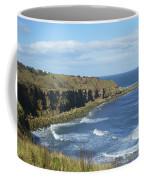 coastal bay at Cove with cliffs Coffee Mug