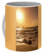 Coastal Sunrise Silhouette Coffee Mug