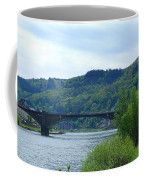 Cochem Castle And River Mosel In Germany Coffee Mug