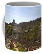 Cochem Castle And Town On Mosel In Germany Coffee Mug
