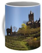 Cochem Castle And Vineyard In Germany Coffee Mug