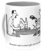 Coffee With The Paper Coffee Mug