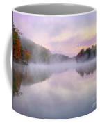 Cold Autumn Morning By A Lake Coffee Mug