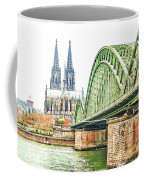 Cologne Cathedral Coffee Mug by Fran Riley