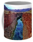 Colorado River From The Navajo Bridge 001 Coffee Mug