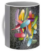 Colorful Feathers Coffee Mug