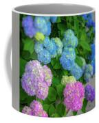 Colorful Hydrangeas Coffee Mug
