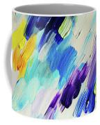 Colorful Rain Fragment 1. Abstract Painting Coffee Mug
