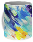 Colorful Rain Fragment 5. Abstract Painting Coffee Mug