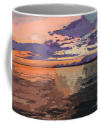 Colorful Sunset Over The Gulf Of Mexico Coffee Mug