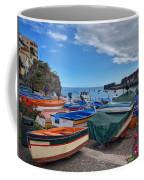 Colourful Boats Coffee Mug