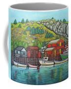 Colours Of Quidi Vidi, Newfoundland Coffee Mug by Lisa Lorenz