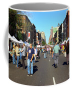 Columbus Day On Amsterdam Ave. Upper West Side, New York 2008 Coffee Mug