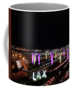 Coming And Going In The Heart Of L A At Night-time Coffee Mug