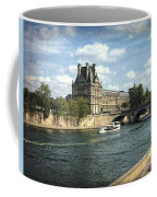 Contemplating The Louvre Coffee Mug