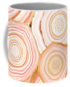 Coral Agate Abstract Coffee Mug