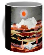 Coral Desert Lake Coffee Mug